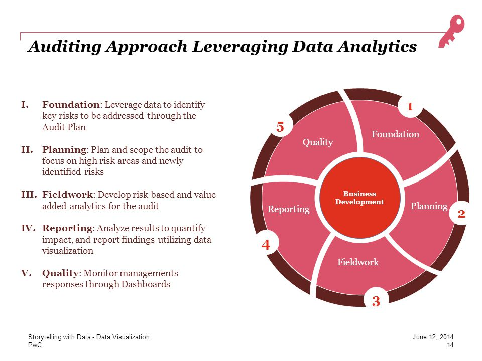Auditing Approach Leveraging Data Analytics