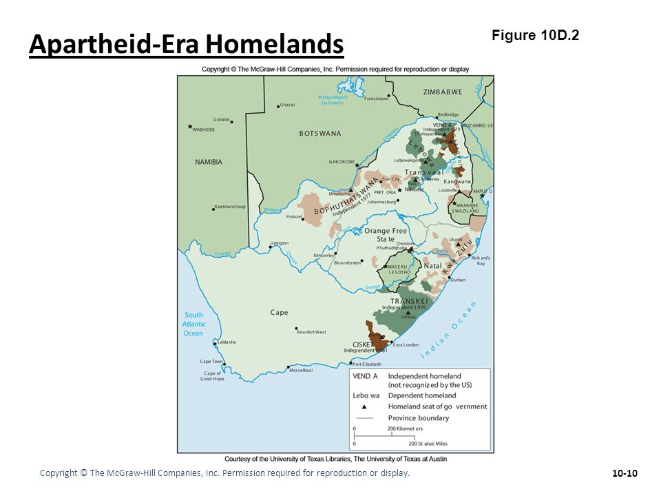 Apartheid-Era Homelands