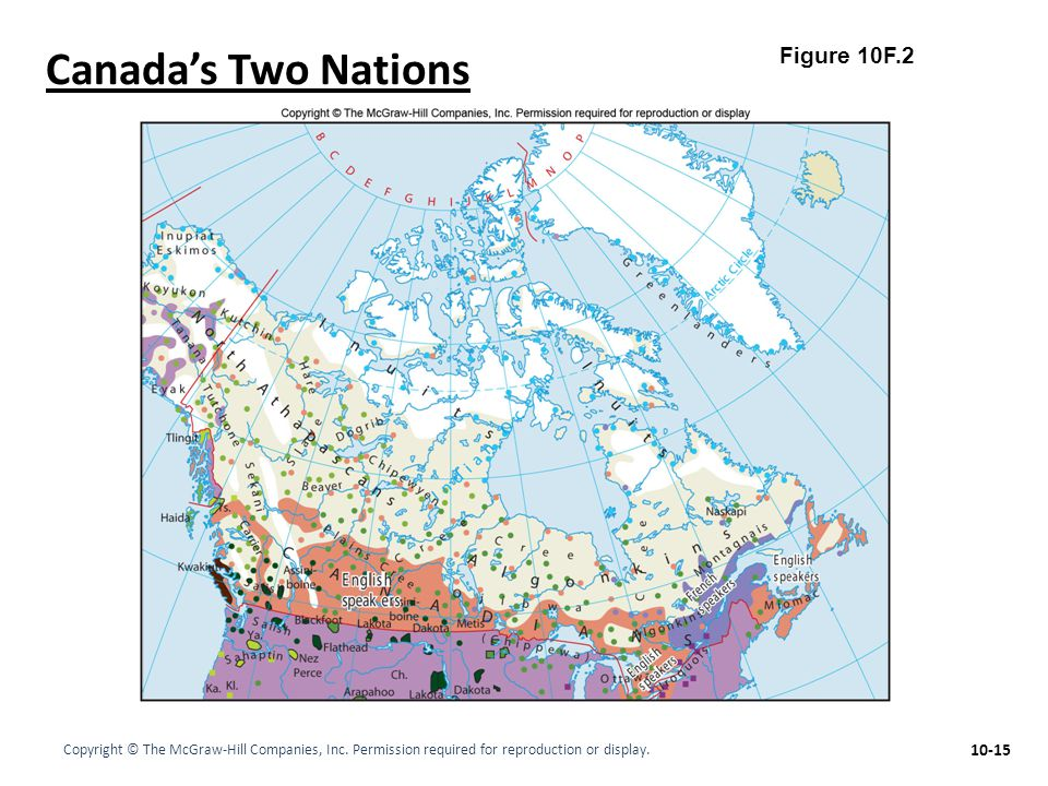 Canada's Two Nations Figure 10F.2