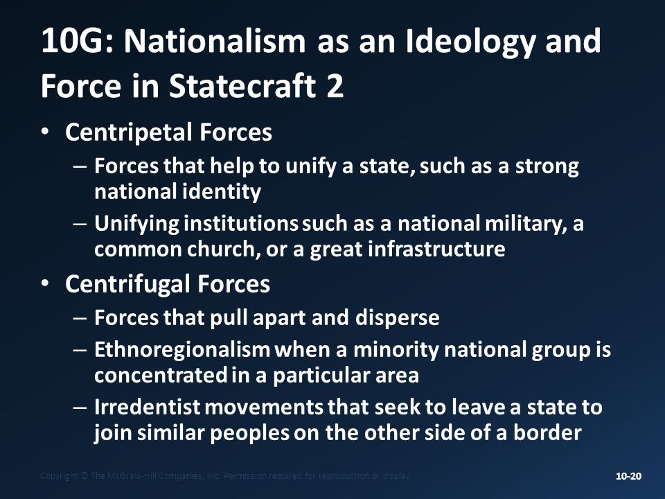 10G: Nationalism as an Ideology and Force in Statecraft 2