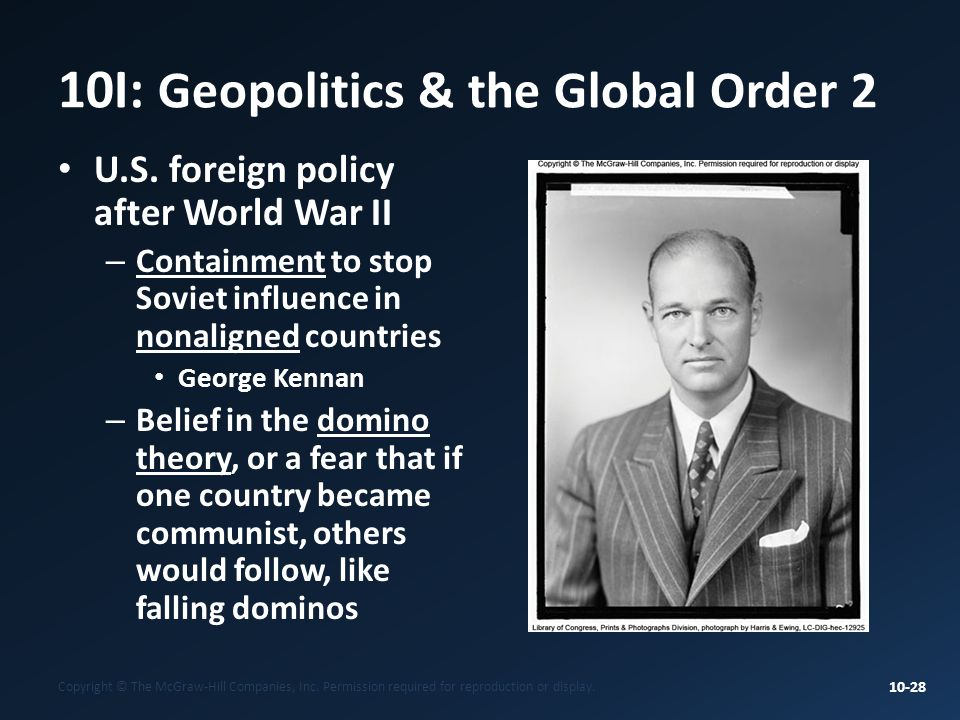10I: Geopolitics & the Global Order 2