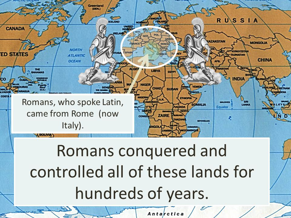 controlled all of these lands for hundreds of years.
