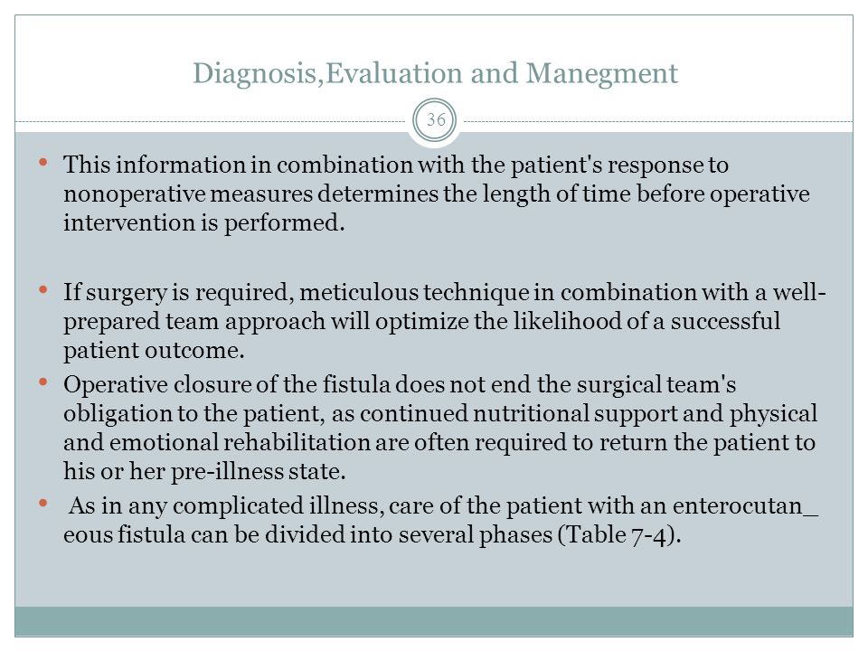 Diagnosis,Evaluation and Manegment