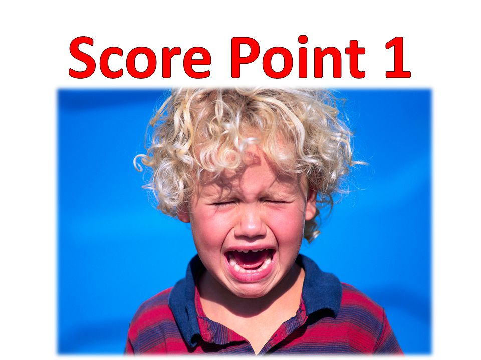 Score Point 1
