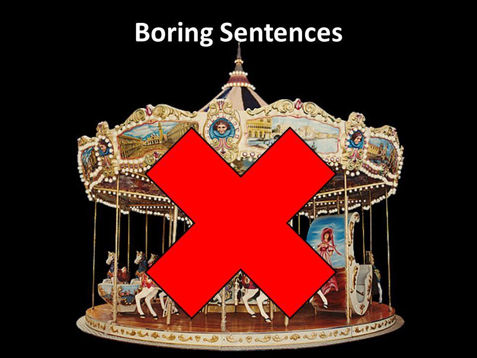 Boring Sentences