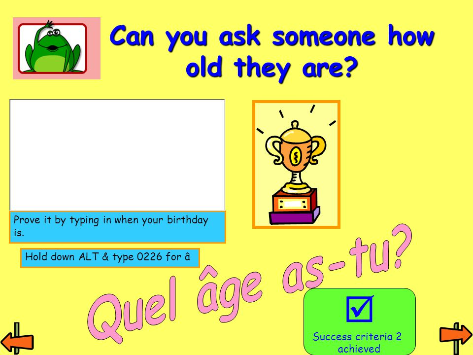 Can you ask someone how old they are