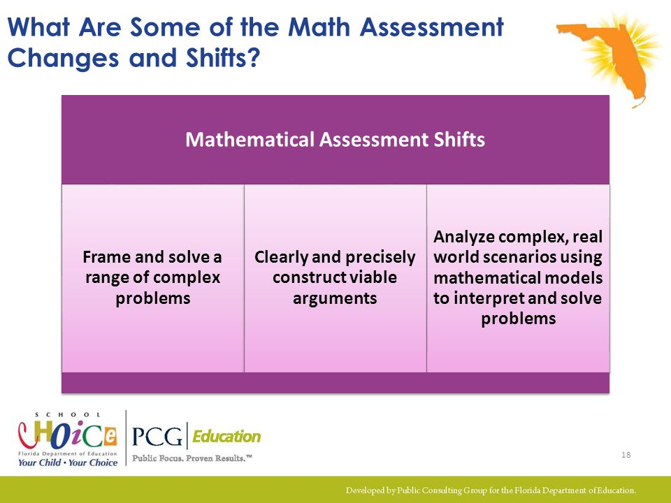 What Are Some of the Math Assessment Changes and Shifts