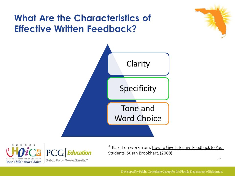 What Are the Characteristics of Effective Written Feedback