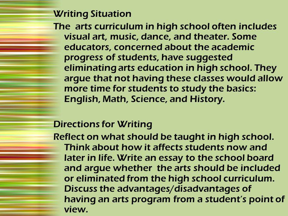 Writing Situation