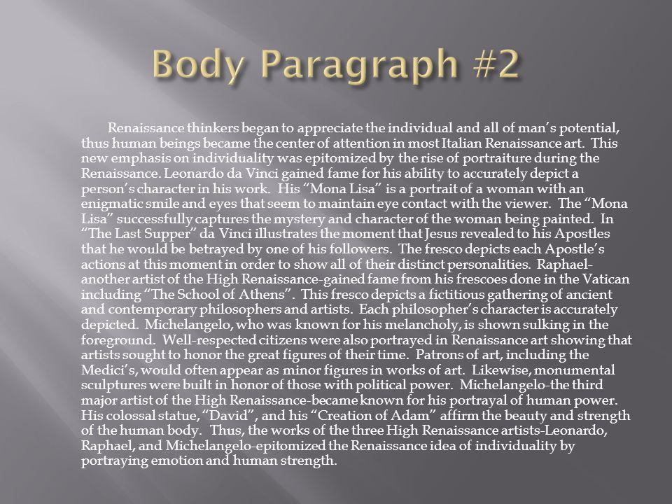 Body Paragraph #2