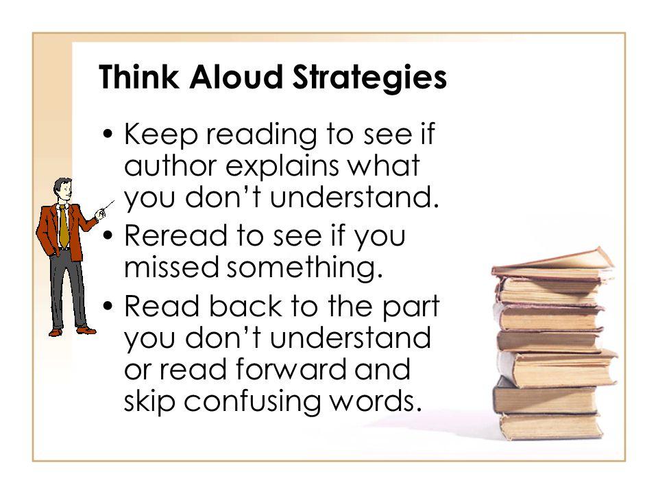 Think Aloud Strategies