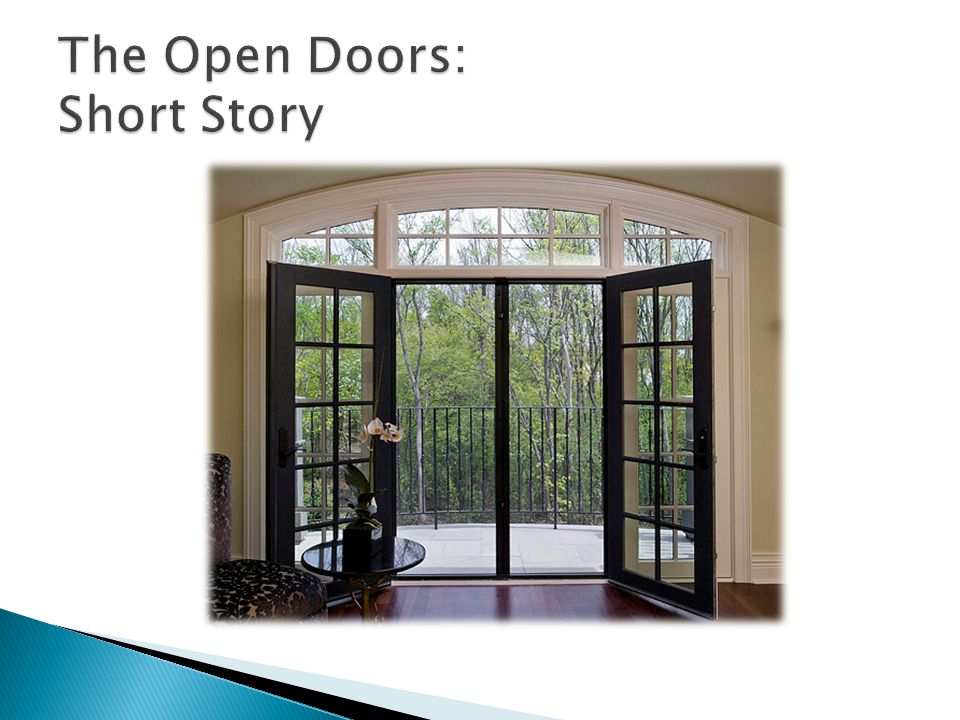 The Open Doors: Short Story