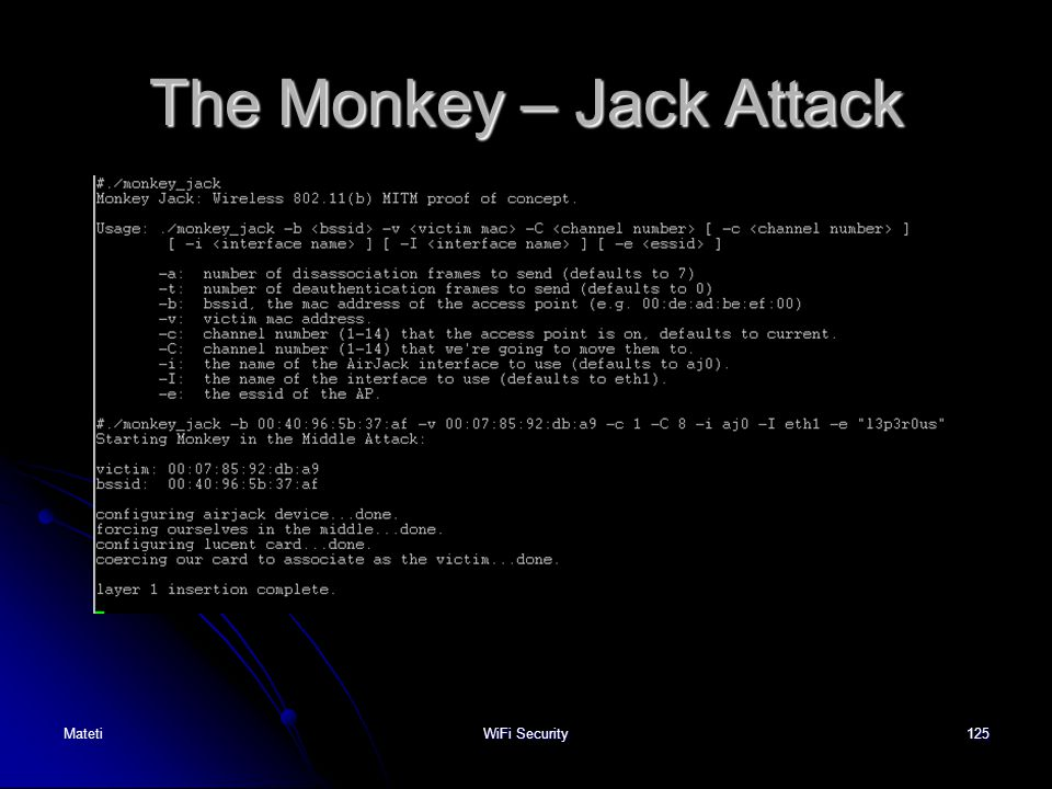 The Monkey – Jack Attack