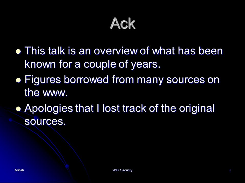 Ack This talk is an overview of what has been known for a couple of years. Figures borrowed from many sources on the www.