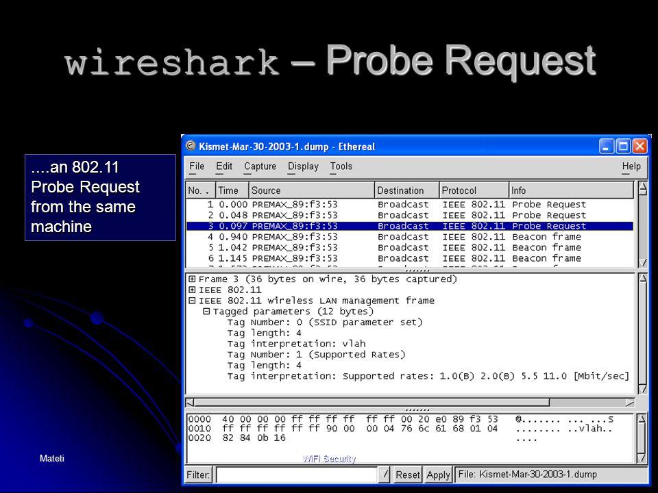 wireshark – Probe Request