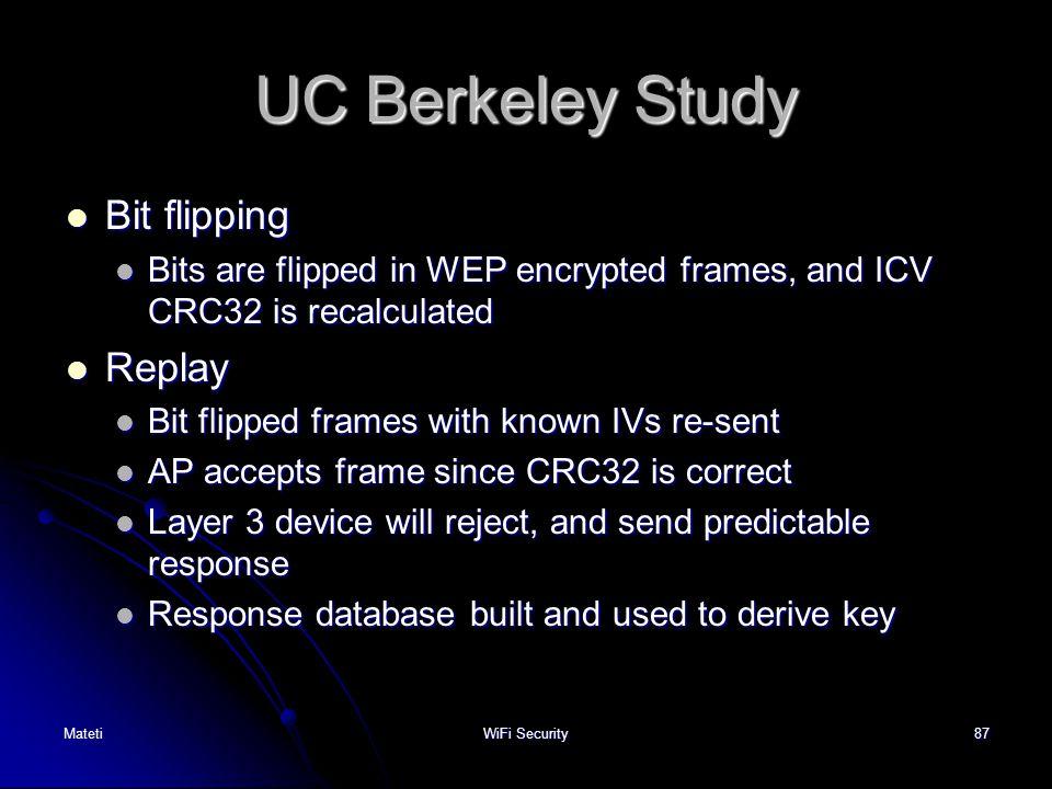UC Berkeley Study Bit flipping Replay
