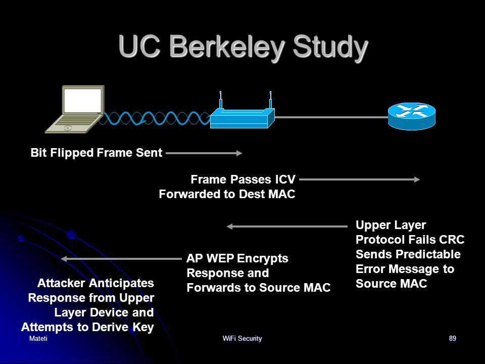 UC Berkeley Study Bit Flipped Frame Sent