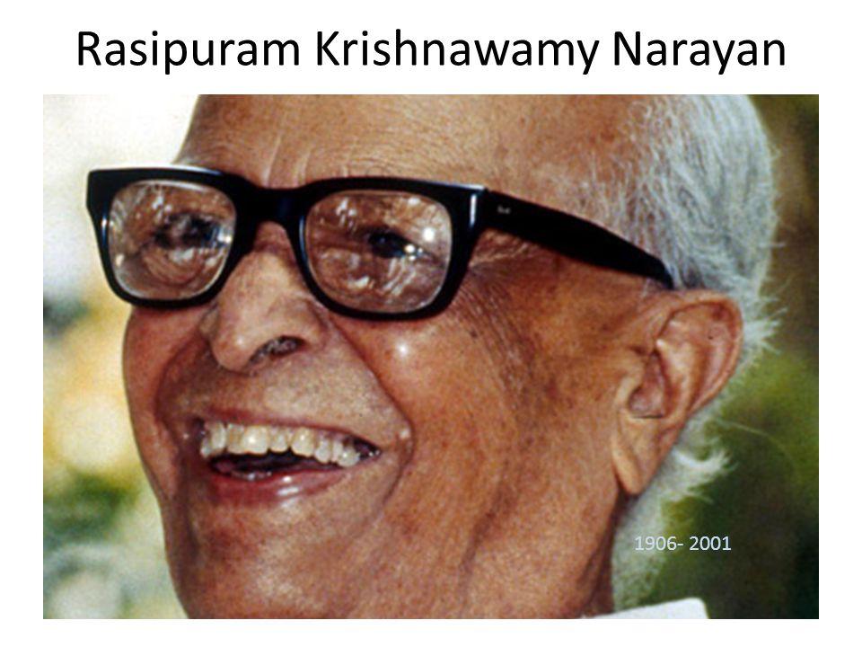 Rasipuram Krishnawamy Narayan