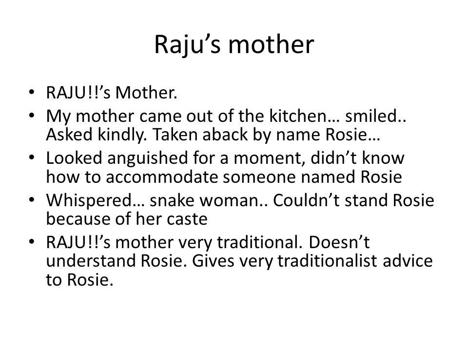 Raju's mother RAJU!!'s Mother.