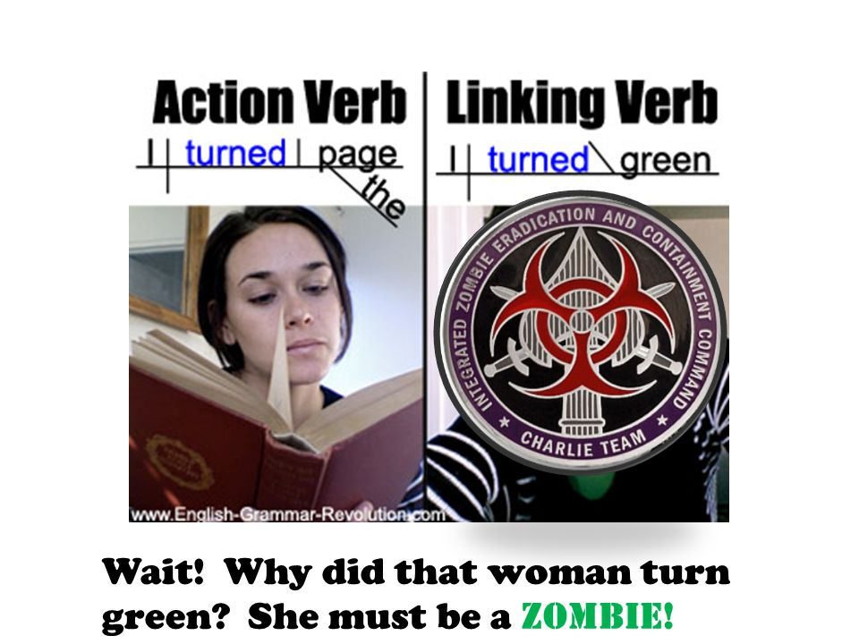 Wait! Why did that woman turn green She must be a ZOMBIE!