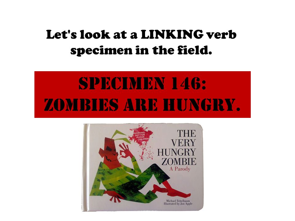 Specimen 146: Zombies are hungry.
