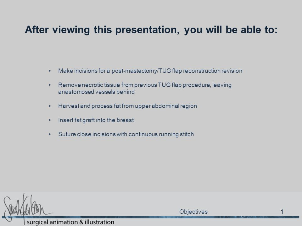 After viewing this presentation, you will be able to: