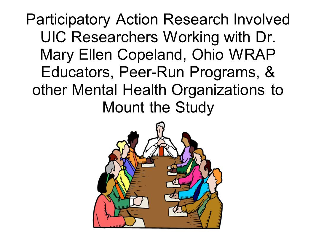 Participatory Action Research Involved UIC Researchers Working with Dr