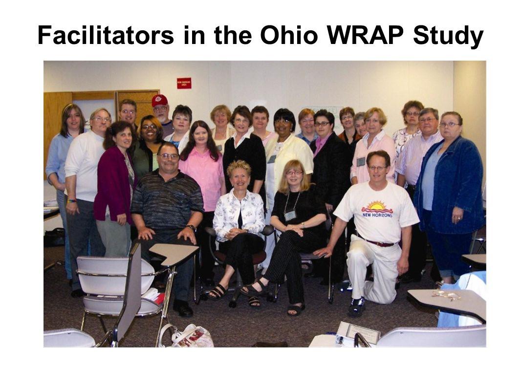 Facilitators in the Ohio WRAP Study