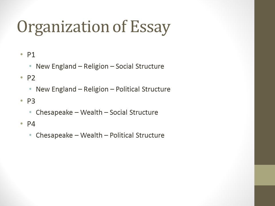 religion essay structure Essays from bookrags provide great ideas for religion essays and paper topics like essay view this student essay about religion church structure consisted of.