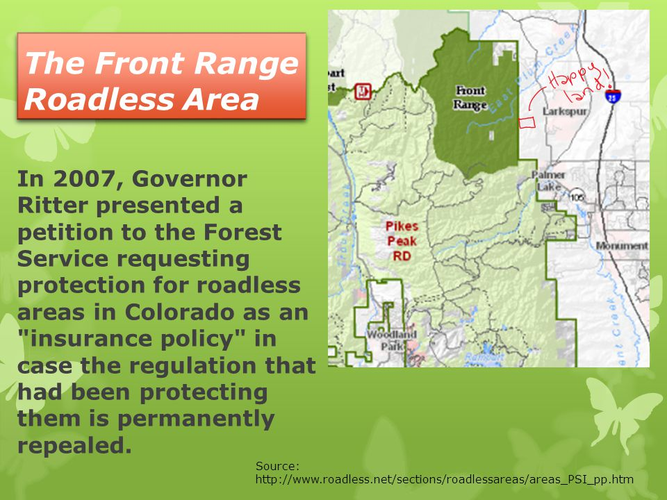 The Front Range Roadless Area