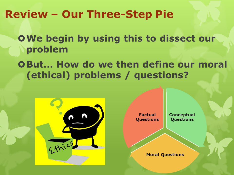 Review – Our Three-Step Pie