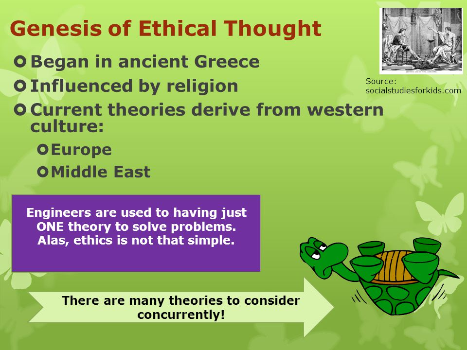 Genesis of Ethical Thought