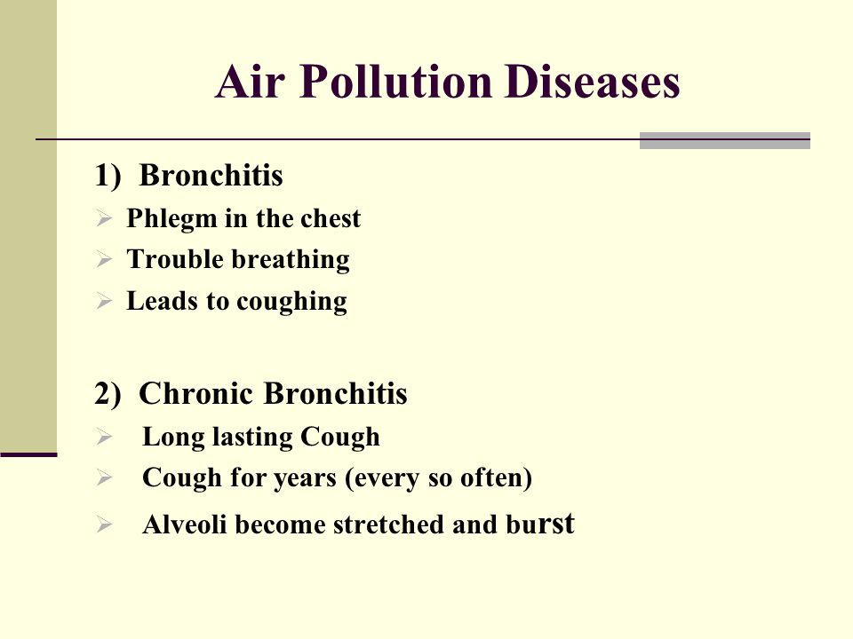 Air Pollution Diseases