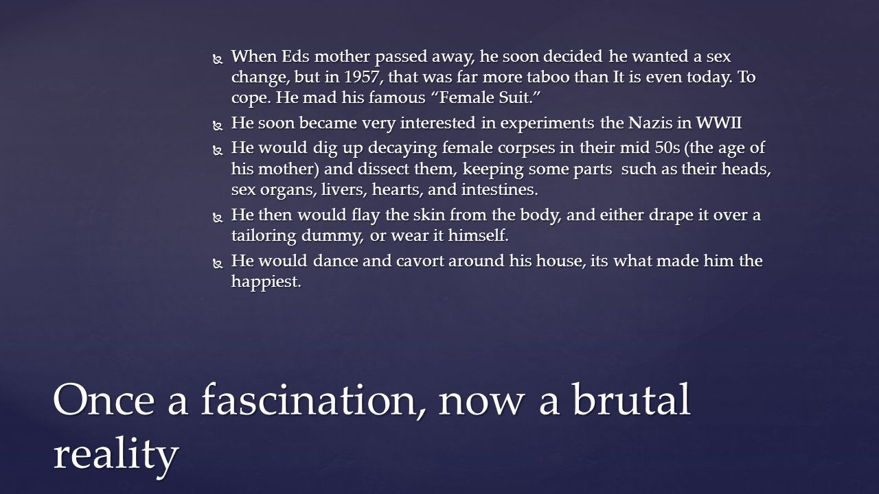 Once a fascination, now a brutal reality