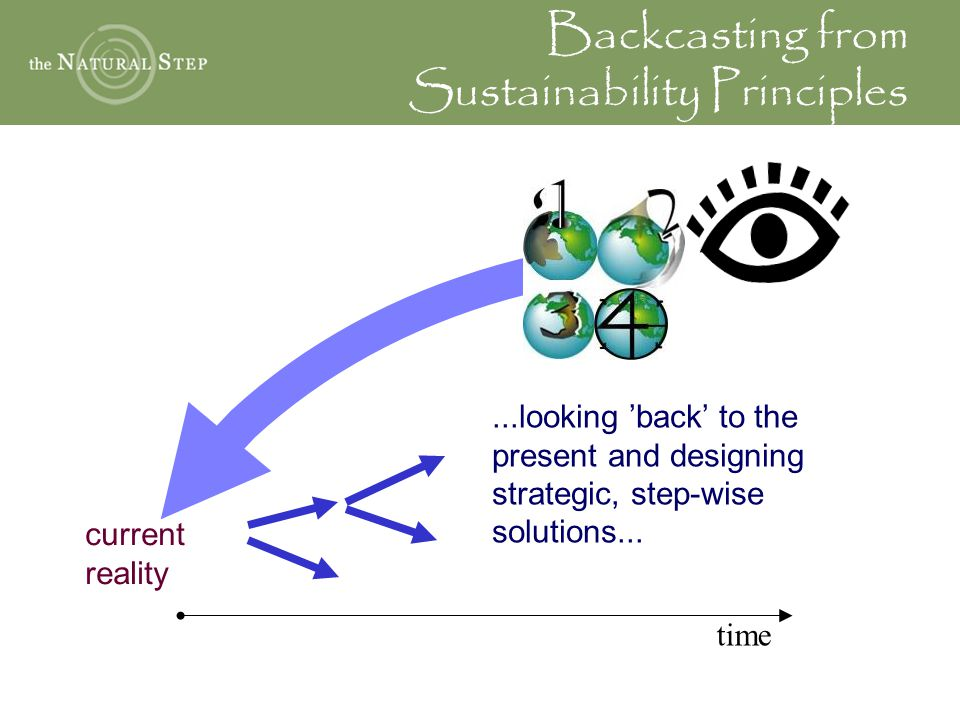 Backcasting from Sustainability Principles