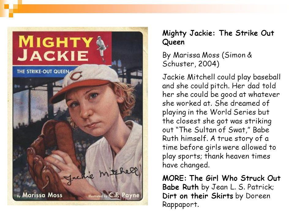 Mighty Jackie: The Strike Out Queen