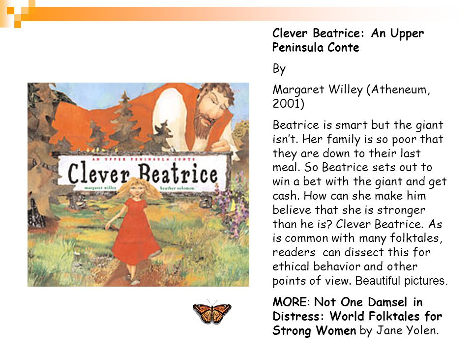 Clever Beatrice: An Upper Peninsula Conte By