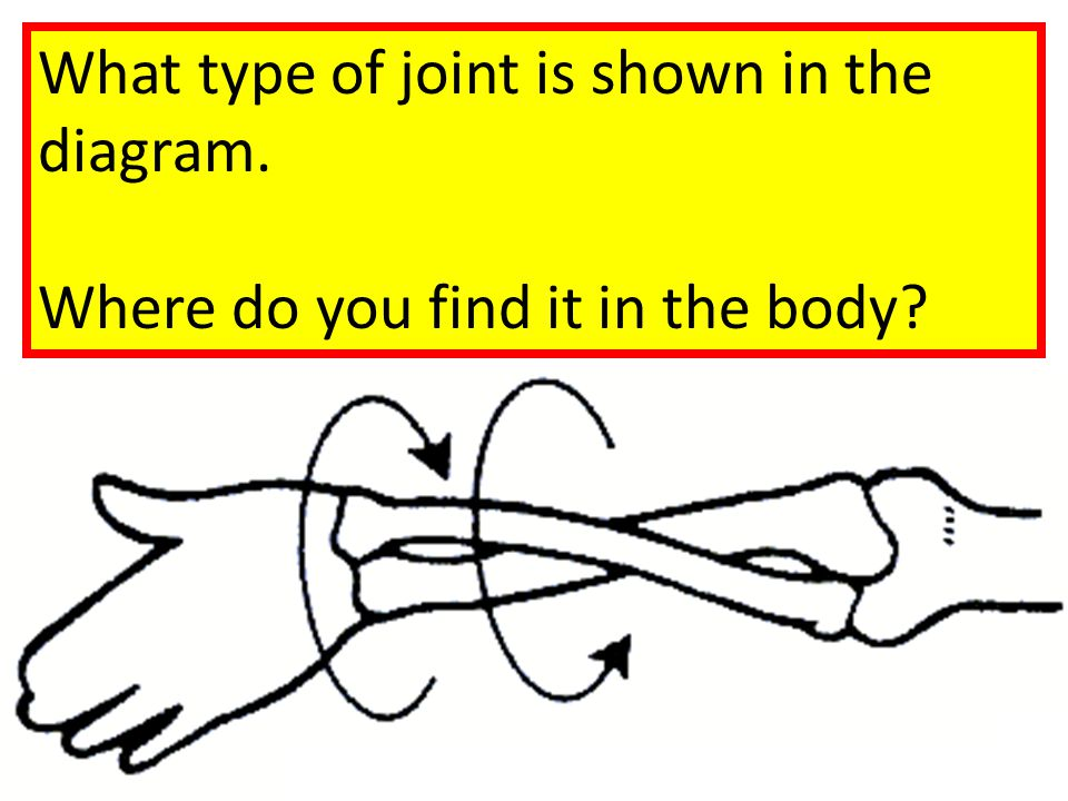 What type of joint is shown in the diagram.