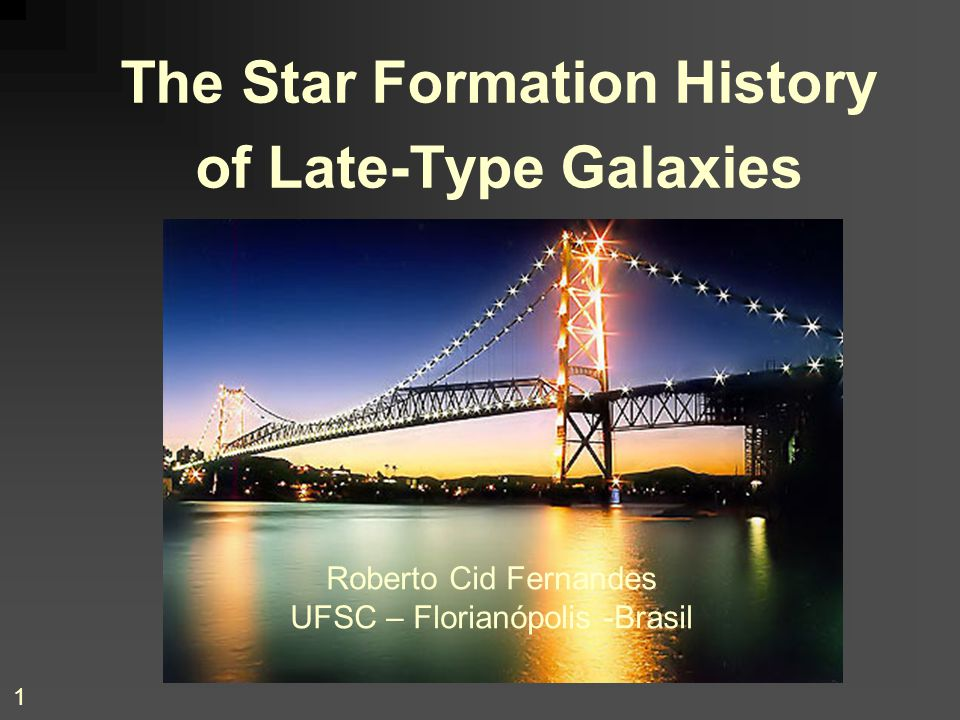The Star Formation History of Late-Type Galaxies