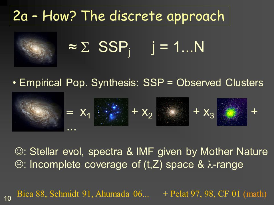 2a – How The discrete approach