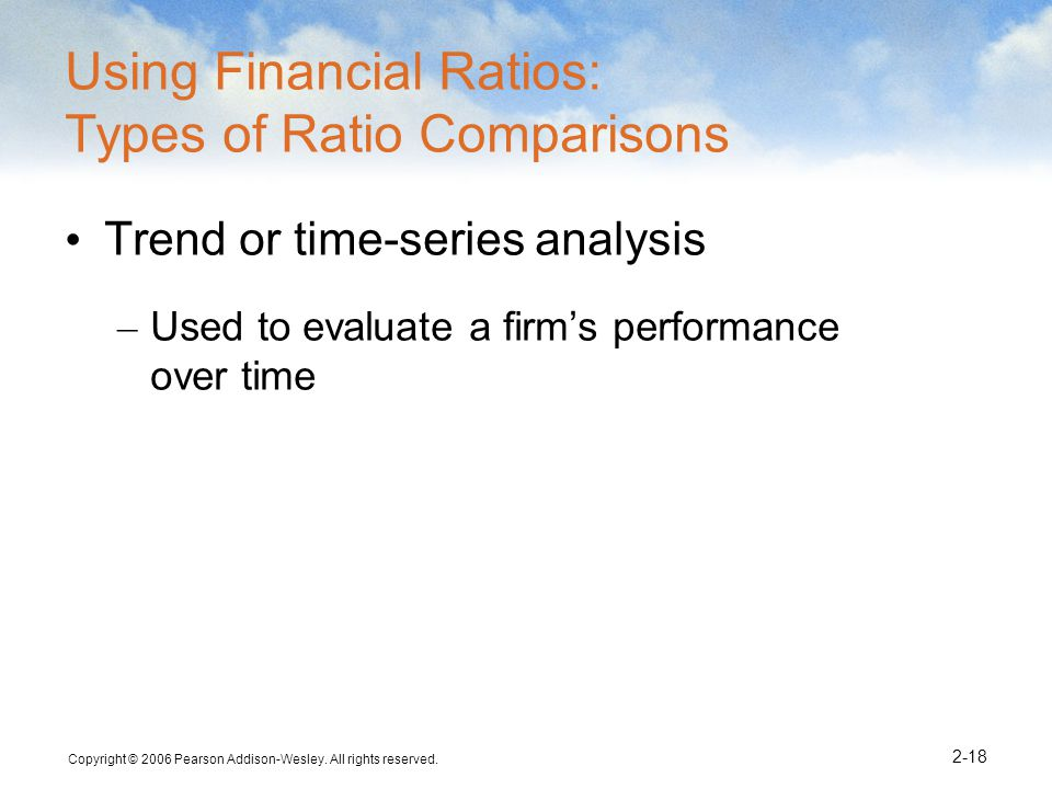 Using Financial Ratios: Types of Ratio Comparisons