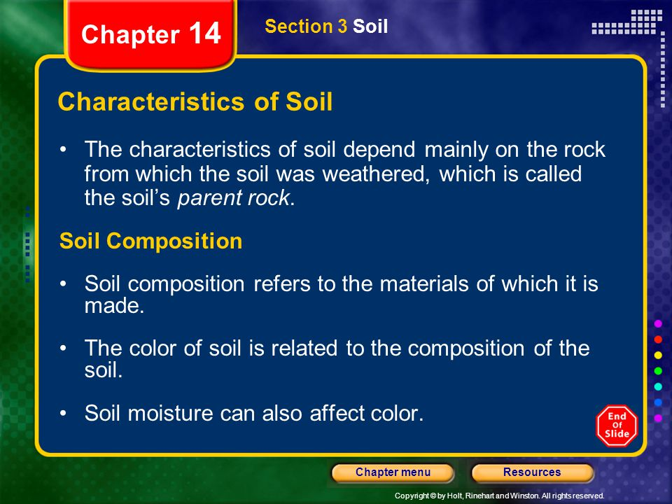 How to use this presentation ppt download for What are soil characteristics