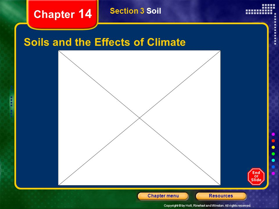 Soils and the Effects of Climate