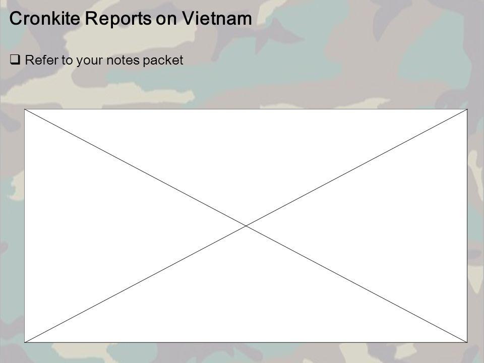 Cronkite Reports on Vietnam