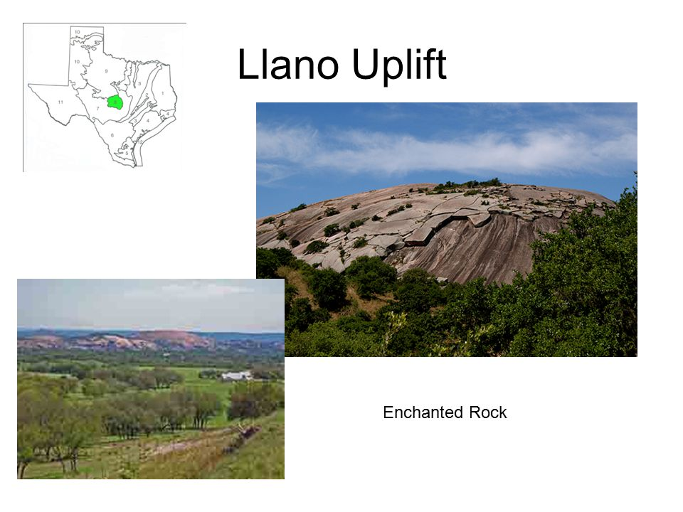 Llano Uplift Enchanted Rock