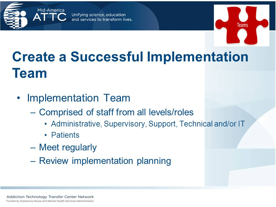 Create a Successful Implementation Team