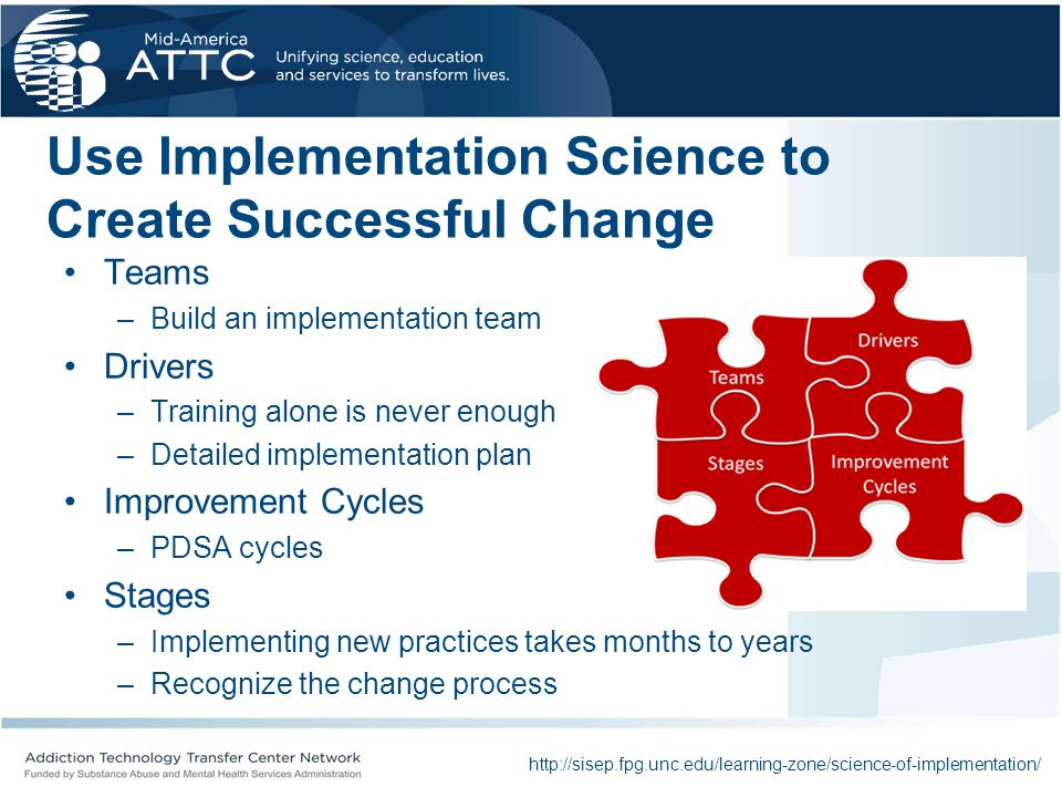 Use Implementation Science to Create Successful Change