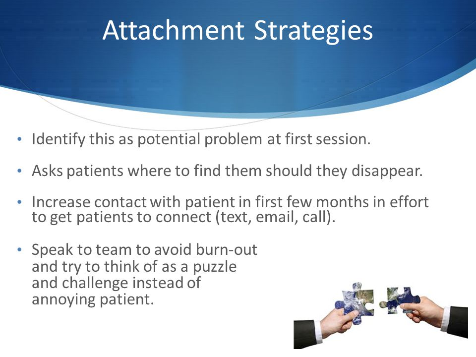 Attachment Strategies