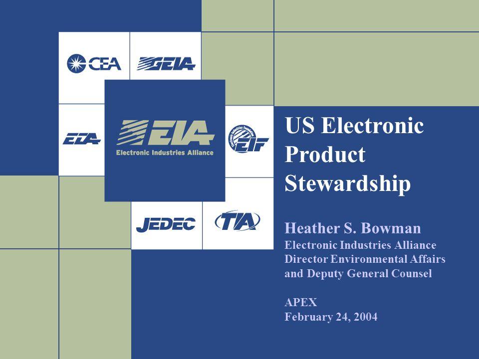 US Electronic Product Stewardship