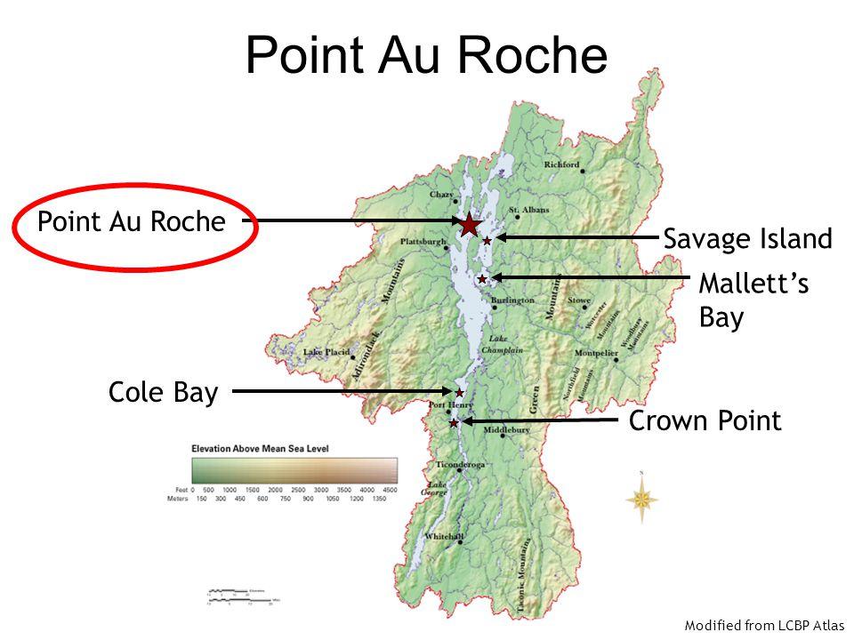 Point Au Roche Point Au Roche Savage Island Mallett's Bay Cole Bay